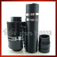 Speciale Aanbieding Hoge Kwaliteit Hot Koop Universele Diameter: 3 Inch Black Carbon Fiber 76 Mm Luchtfilter Hoogte: 210 Mm