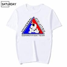 Men and Women Jiu Jitsu Fashion Print T-shirt Graphic Premium Casual Short O-Neck Sleeves White Hipster T-shirt Unisex Clothes