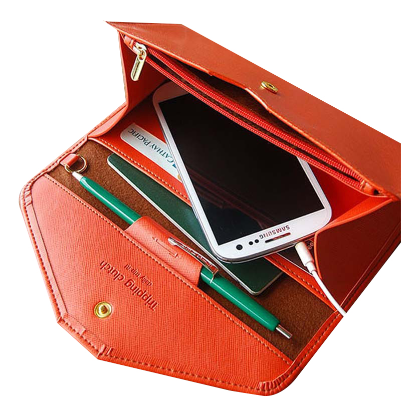 JULY'S SONG Women Wallet Multifunctional Clutch Female Phone Carteiras Femininas Money Bag Purse Card Holder Tripping Clutch