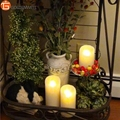 5/7/9 Inch Luminara Flameless Scented Garden Decorative Candles