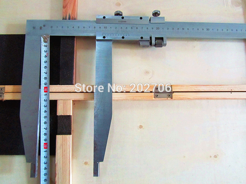 0 500mm x 250mm long jaw Heavy Duty Vernier Caliper with nib jaw High quality measuring