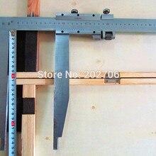 0-500 мм x 250 мм длинная челюсть сверхмощный штангенциркуль с наконечником высокое качество измерительные инструменты