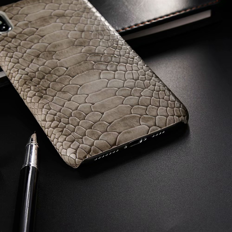 snake pu leather case (4)