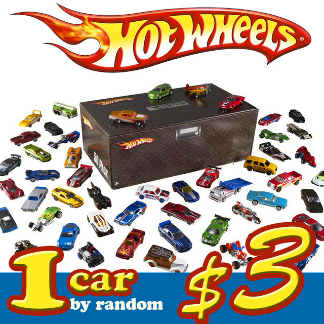 1:64 Hot Wheels Basic Car 100% Original Car Style Toy Mini Alloy Cars Toys For Children Collectible Model Cars C4982 Random Sent(China)