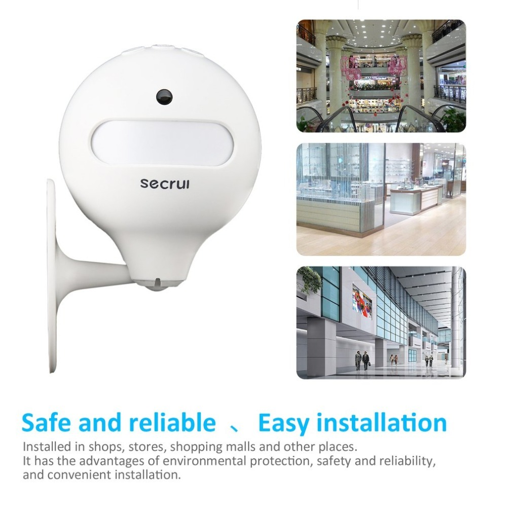 Wireless Door Bell Welcome Chime Alarm PIR Infrared Motion Sensor Shop Home Hotel Entry Security Doorbell Infrared Detector sensor motion door bell switch mp3 infrared doorbell wireless pir motion sensor voice prompter welcome door bell entry alarm z3