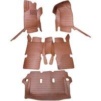 Автомобильные кожаные коврики ковры автомобиля коврики для Toyota Fortuner 2014 салонные аксессуары 4 шт. в комплекте