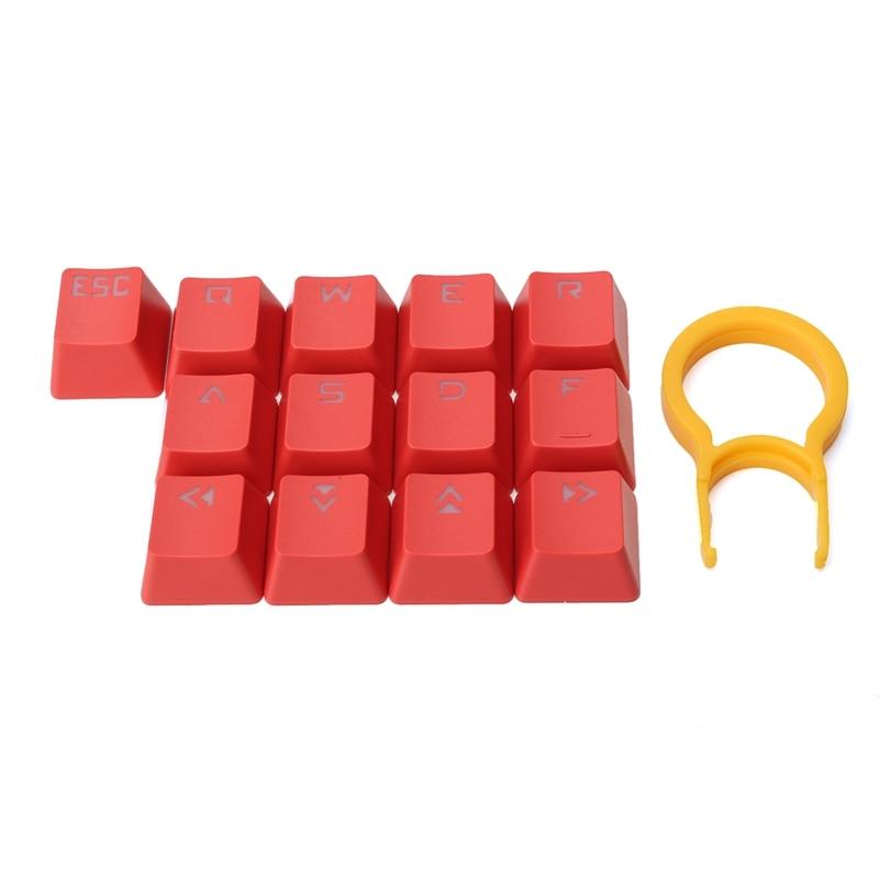 13 Keys/pack Doubleshot Translucent Mechanical Keyboard KeyCap Backlit For Cherry MX KeyCap PBT Puller Gaming Backlight Switch