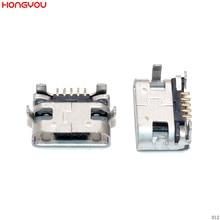 2PCS Micro USB Charge Jack Dock Socket For Lenovo S930 S910 A788T A388T A656 A370E A3000 A5000 A7600 Charging Port Connector