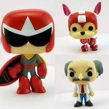 pops Games Proto Man /Rush /Dr. Wily model toy Action Figure Kids Toys Gift NO BOX цены