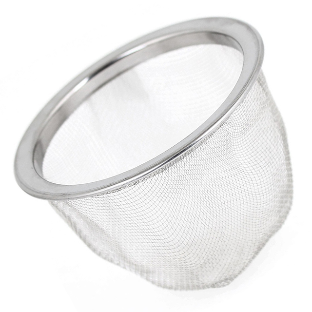 SZS Hot 63mm Silver Tone Stainless Steel Wire Mesh Tea Leaves Spice ...
