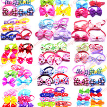 Puppy-Accessories Dog-Bow-Ties Wholesale Bowtie-Collar Pet Necktie 500pcs Mix-Style Designs