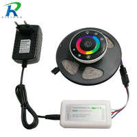 RiRi won SMD RGB LEDs Strip light 5050 5m 10m 15m 20m waterproof led light 60Leds/M led tape diode Controller DC 12V power set