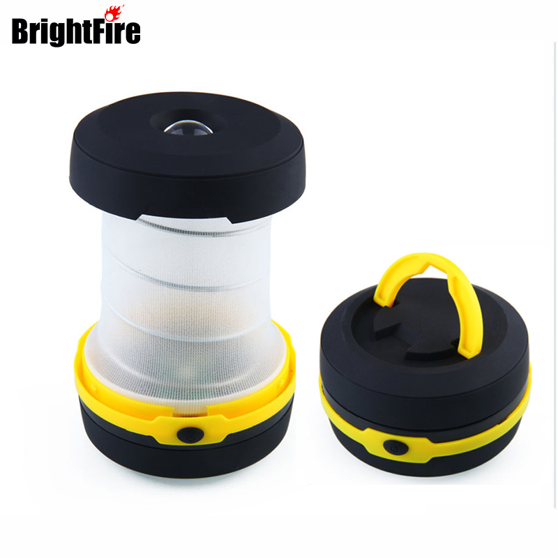 Collapsible Led Camping Lights 3 Modes Mini Emergency Lantern Retractable Multifunctional Flashlights and Lanterns for Fishing