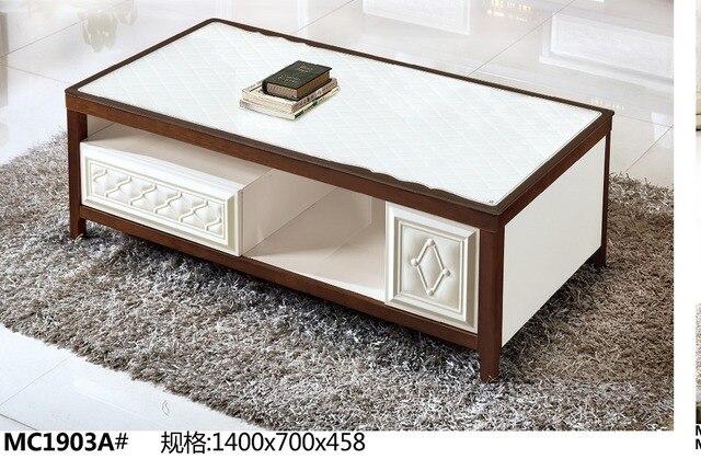 Tavolo Da Salotto Moderno.Mc1903a Mobili Salotto Moderno Piano In Vetro Tavolo Da Te Tavolino
