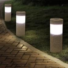 Outdoor LED Solar Lights Lawn Lights Waterproof Lighting Cordless Solar Powered LED Garden lamp Light-operated Sand Blast Lamp все цены