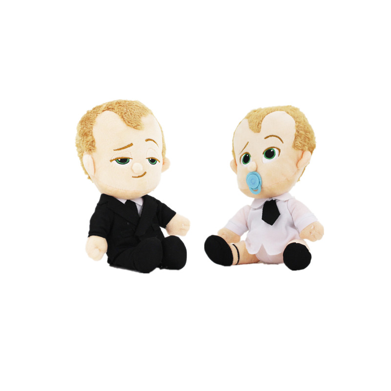 18cm The Boss Baby Plush Cartoon Doll Toys Hot New Movie Plush Dolls Toys Leader Cartoon Stuffed Soft Doll Toy For Kid Gift