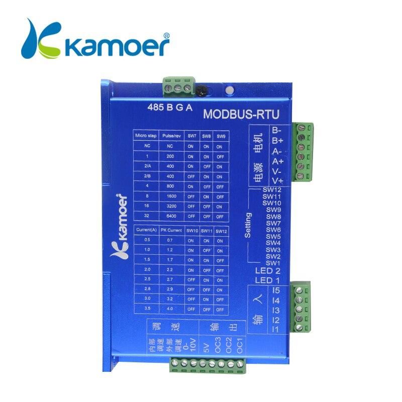Kamoer MODBUS Step Motor Peristaltic Pump Controller For adjust the Speed And Control KHL KDS KCS KAS Stepper Motor Pump number