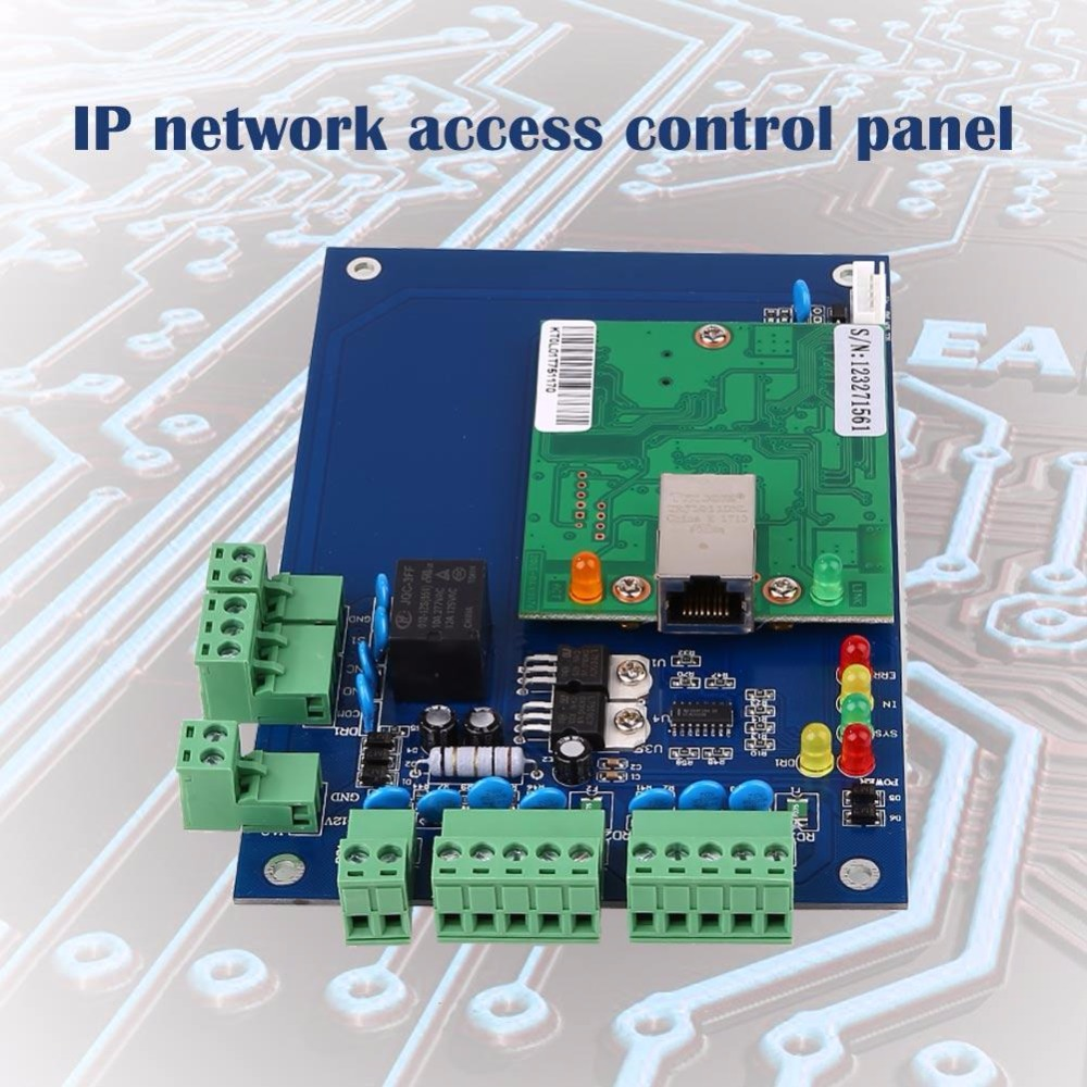 New Arrival LO1 Single Door Network Bothway Access Control Panel Circuit  Board Lock Exit Professional TCP/IP Accessories Gift-in Replacement Parts  ...