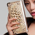 Best hot  leather female evening bag and coin purse single zipper clutch bag fashion women's wallets purse femininas bolsaXA421B