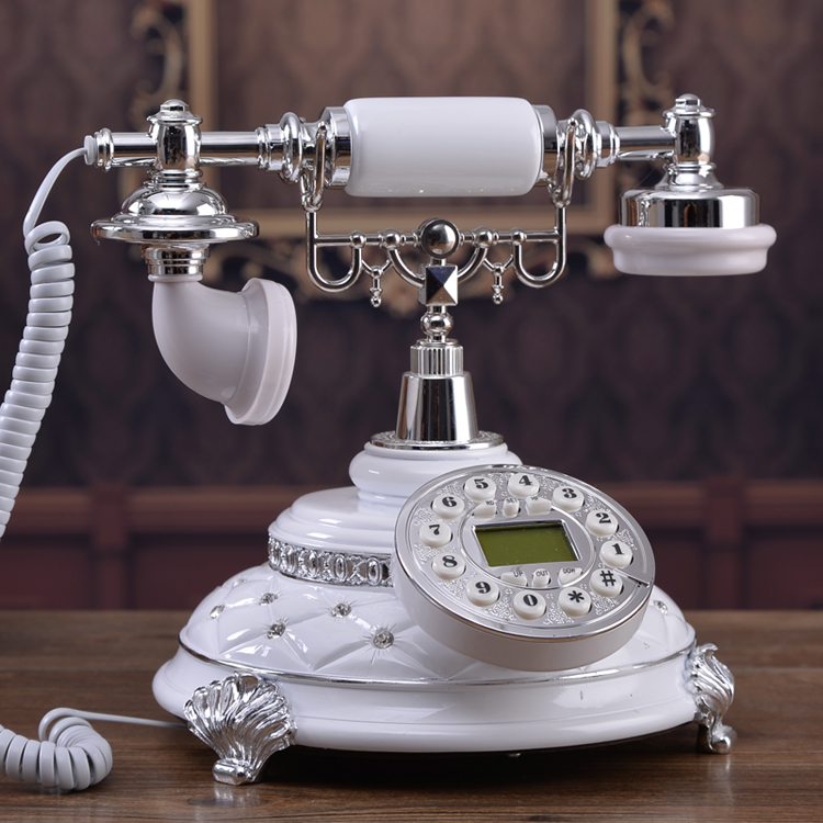 The new style of European noble retro phone antique craft style phone home phone with a backlight call