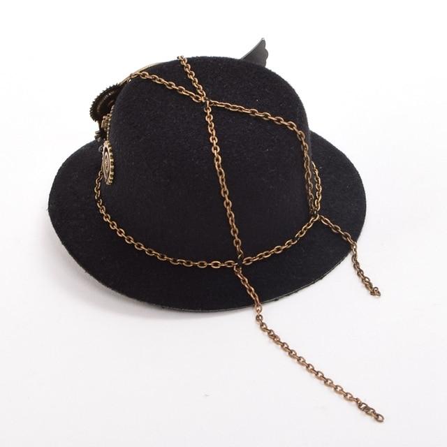 Шляпка в стиле стимпанк вариант 2 5