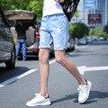 Hot Sale 2017 shorts jeans finos dos homens Nova moda de verão calções masculinos Casuais jeans curto ocasional Macio e confortável