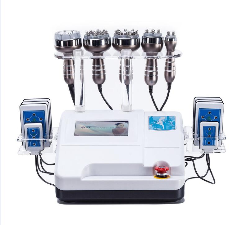 Vaccum Cavitation RF Cellulite Reduction Body Sliming Machine Body Shaping Lose Weight Spa Salon Beauty Equipments With DHL