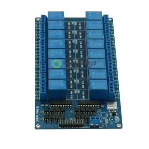 Image 2 - 16 channel 5V Relay Shield Module with anode LM2576 Power for Arduino