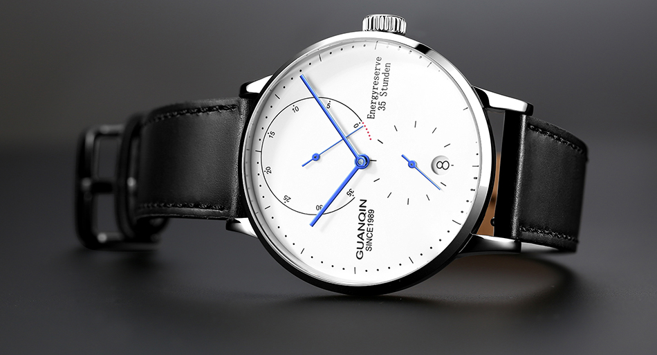 HTB18dUWanCWBKNjSZFtq6yC3FXa4 GUANQIN Mechanical Business Watch Men Top Brand Luxury Luminous 316L stainless steel Wrist Mens Automatic Watches Gold Clock