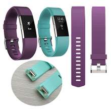 For Fitbits Charge 2 Band New Replacement Silicone Soft Silicone Watch Band Wrist Strap For Charge 2 Heart Rate Smart band