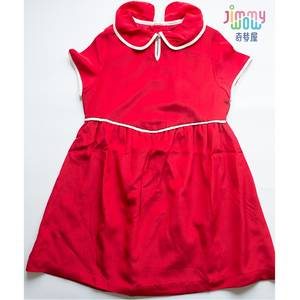 Girls Dress Princess Clothes Spring Children Summer Comfort Soft Silk Cute New-Style