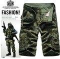 2016 Men cargo Shorts bermuda masculina de marca Men Casual  Cargo Shorts men Camo Cargo Shorts Military Camouflage Short