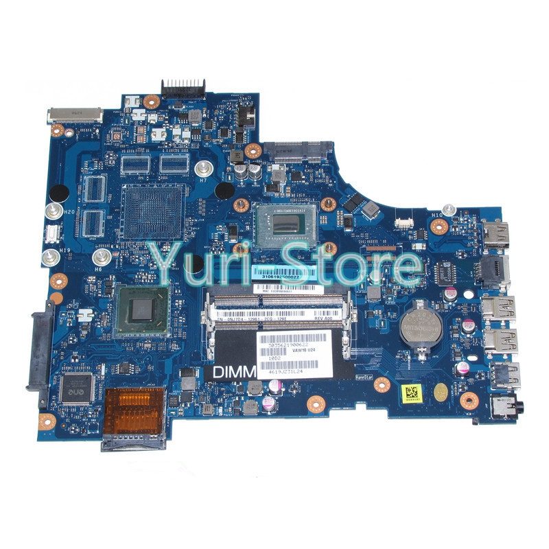 NOKOTION For Dell Inspiron 17 3721 Laptop CN-0NJ7D4 0NJ7D4 NJ7D4 MAIN BOARD 17.3'' Pentium 2117U CPU DDR3 nokotion laptop motherboard for dell inspiron 7520 qcl00 la 8241p cn 0f761c main board radeon hd 7730m ddr3 hd4000