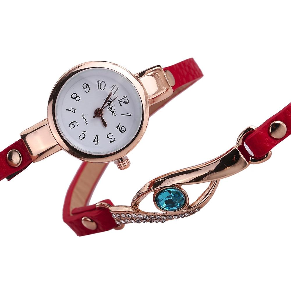 Ladies Bracelet Watch - red