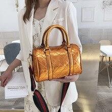 цена на Female Crossbody Tote Bag Women 2019 Quality PU Leather Luxury Handbags Designer Sac A Main Ladies Boston Shoulder Messenger Bag
