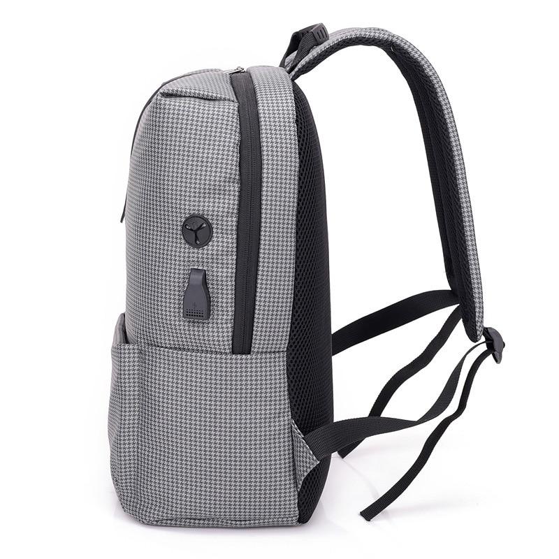 Большой Ёмкость легкий Для мужчин Повседневное рюкзак зарядки мода Корейский досуг Колледж студент дорожные сумки компьютер рюкзак