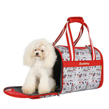 Newest High Quality Portable Pet Cartoon Carriers Puppy Cat Travel Bag Windproof Pet Cage Dog Moving Bed