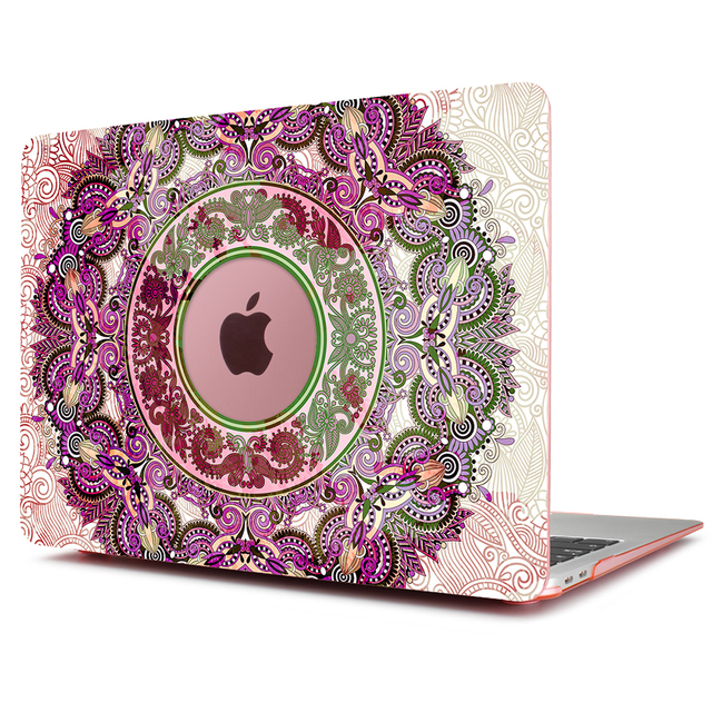 Mandala Print Case for MacBook 1