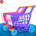 Ohmetoy compras carrinho de compras carrinho de brinquedo cozinha pretend play jogo boneca de aprendizagem educacional toys para crianças meninas rosa roxo vermelho
