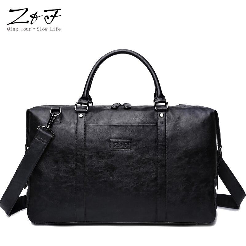 ZEROFRONT New Mens Casual Travel bag Handbag Large Travel Duffle Bags Men Shoulder Bags15inch laptop bag