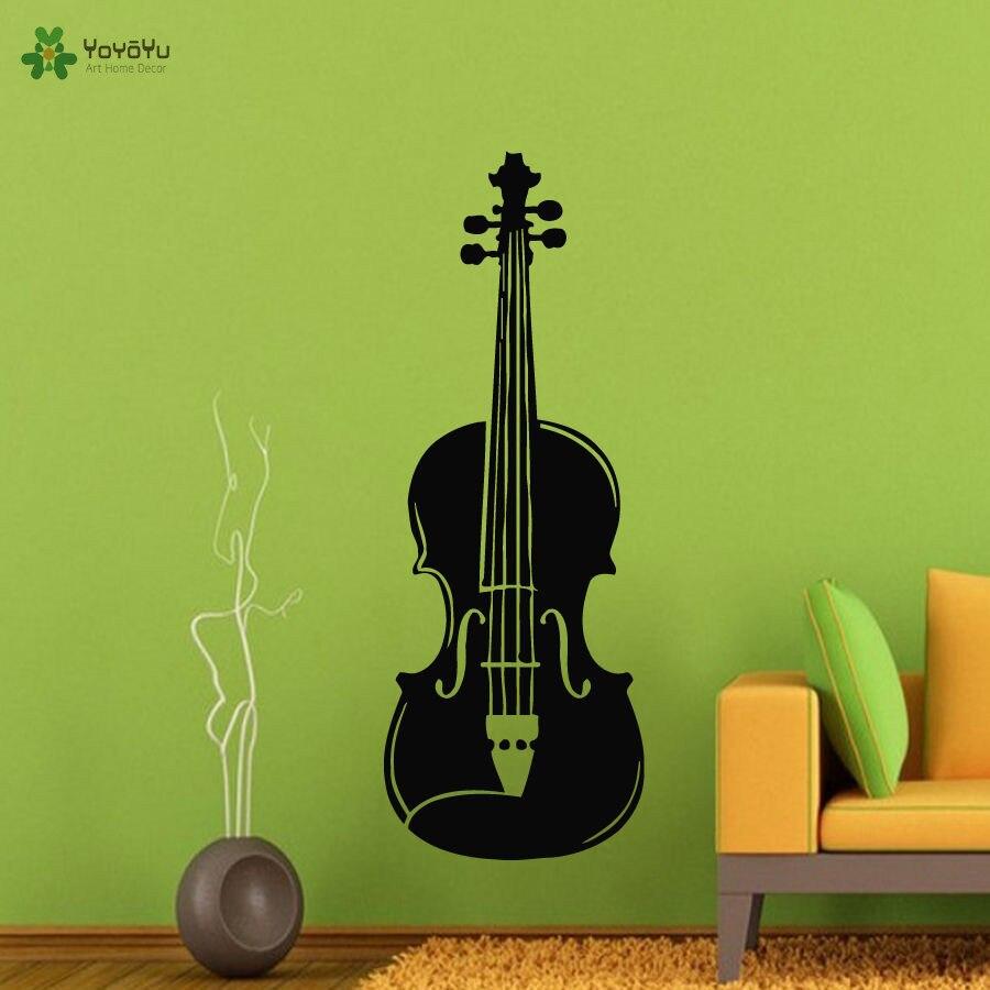YOYOYU Wall Decal Vinyl Art Removeable Sticker Murals Living Room Music Guitar Poster YO465