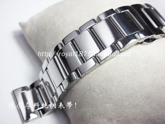 Bracelet montre acier inoxydable homme
