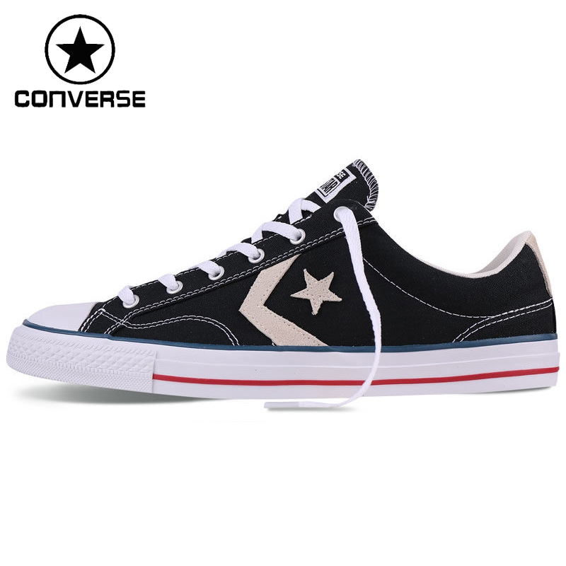 ФОТО Original New Arrival 2017 Converse  Unisex  Skateboarding Shoes Canvas Sneakers