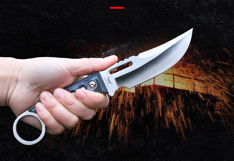 Купить с кэшбэком Watchman MH196 fixed blade camping hunting knife servival outdoor EDC tool high quality knives