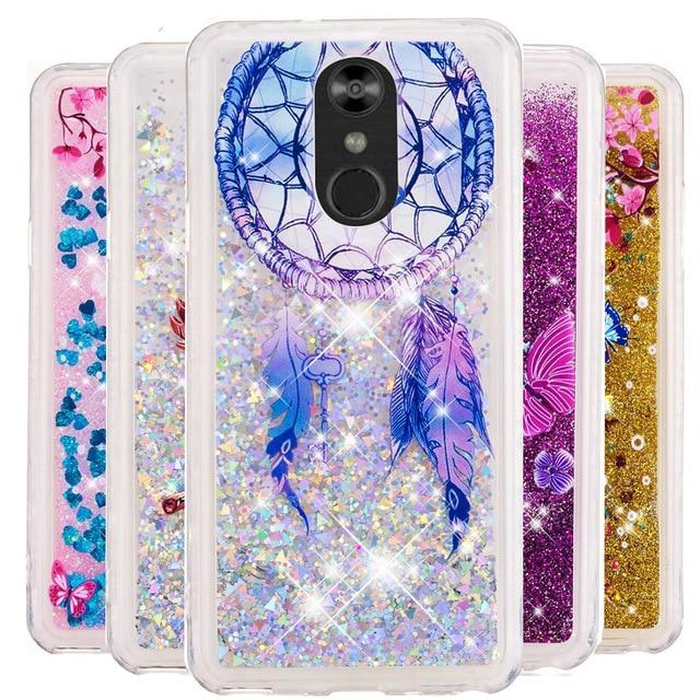 Bling Glitter Quicksand Case For LG Stylo 4 3 Stylus 2 Plus LS775 LS777 K4 2017 K8 K10 2018 G7 V20 V30 Soft TPU Fundas Cover B31