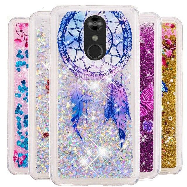 sale retailer bdc95 5412a US $1.64 18% OFF|Bling Glitter Quicksand Case For LG Stylo 4 3 Stylus 2  Plus LS775 LS777 K4 2017 K8 K10 2018 G7 V20 V30 Soft TPU Fundas Cover  B31-in ...