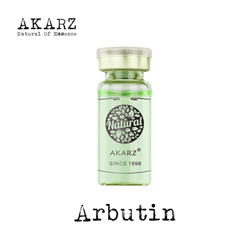 AKARZ Famosa marca arbutin suero extrace esencia estiramiento facial antienvejecimiento para aclarar la piel blanqueamiento hidratante removedor de cicatriz