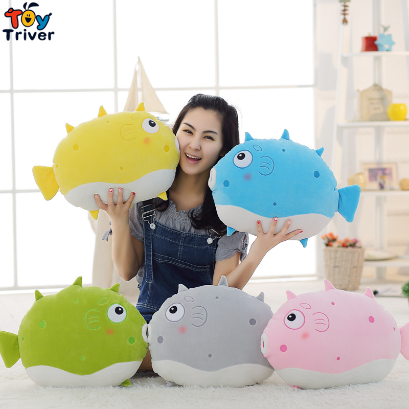 50cm Plush Colorful Kissing Fish Toy Pillow Cushion Stuffed Doll Baby Kids Children Birthday Gift Home Shop Decor Drop Shipping 1pcs 30cm despicable me 2 stuffed plush toy doll film anime minions pea banana style cotton hold pillow baby kids gift
