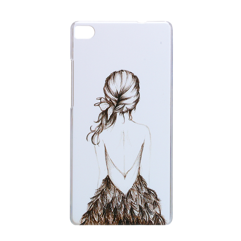 half off 4a5a3 96f09 US $1.99 |Skull Hard Plastic phone Case Cover For HuaWei Ascend P8 Back  Cover cartoon painting design Huawei p8 phone Cover shell on Aliexpress.com  | ...