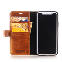 Brand New Pierre Cardin Luxury Genuine Leather Stand Flip Style Card Slot Phone Cover Case For